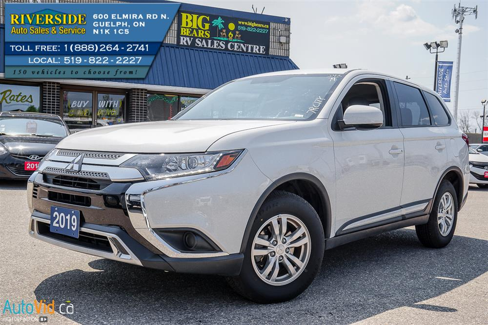 2019 Mitsubishi Outlander ES AWC | Riverside Auto Sales & Service