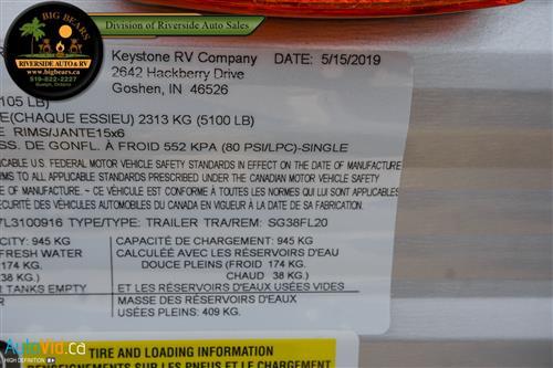 Big Bear S Riverside New Inventory Detail 2020