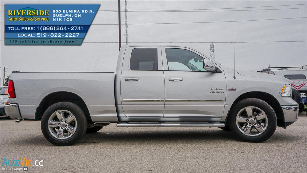 Guelph Auto Mall >> 2014 Dodge Ram 1500 SLT BIG HORN Truck Quad Cab | Riverside Auto Sales & Service