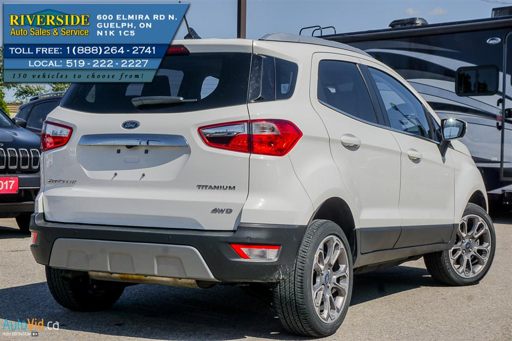 Guelph Auto Mall >> 2018 Ford Ecosport Titanium | Riverside Auto Sales & Service