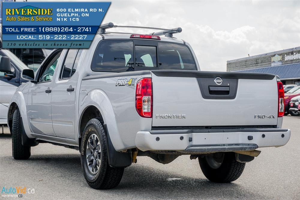 Guelph Auto Mall >> 2019 Nissan Frontier PRO-4X | Riverside Auto Sales & Service