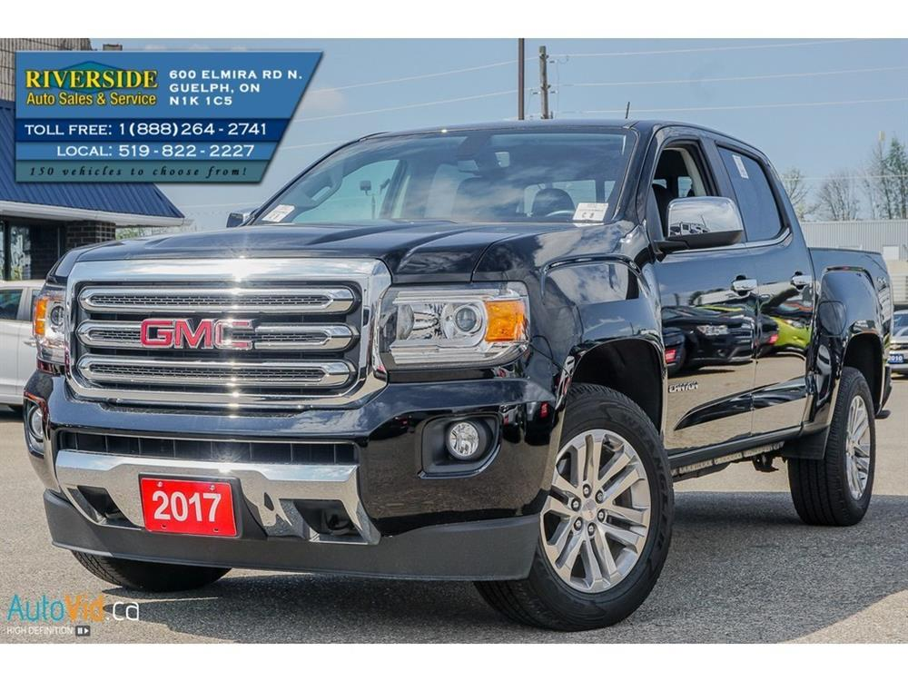 Guelph Auto Mall >> 2017 GMC Canyon SLT Truck Crew Cab | Riverside Auto Sales & Service