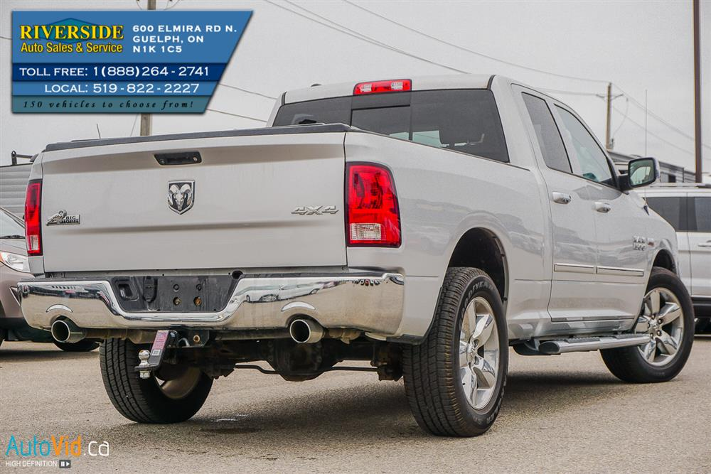2014 dodge ram 1500 slt big horn truck quad cab riverside auto sales service. Black Bedroom Furniture Sets. Home Design Ideas