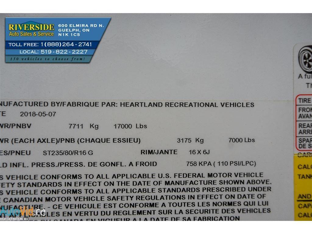 Big Bear's Riverside New | Inventory Detail | 2019 Heartland Fuel 352